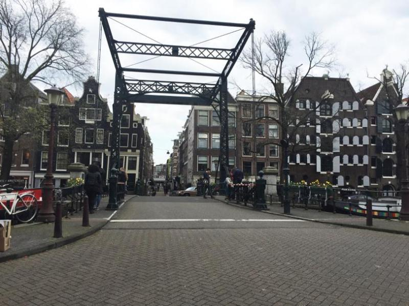 The Oranjebrug in the Jordaan by Frake Schermer (Too Less to Live Too Much to Die)