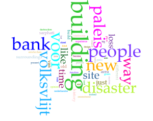 wordcloud by Marije Peute (Dream of the past, hope in the present)