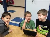 Hubbard Gr 2 with K buddies b