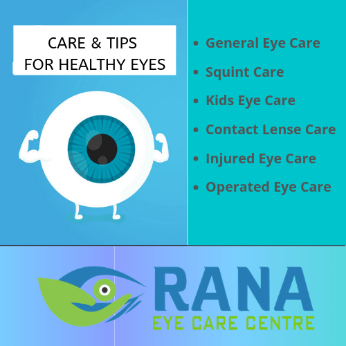 CARE & TIPS FOR HEALTHY EYES