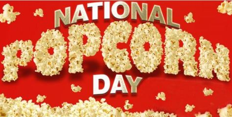 National Popped Corn day 2