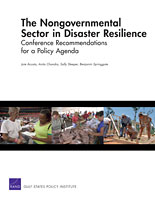 Cover: The Nongovernmental Sector in Disaster Resilience
