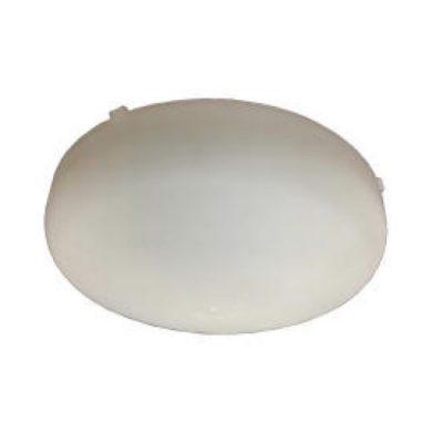 ventline lens cover for lighted bathroom ceiling exhaust fan white plastic
