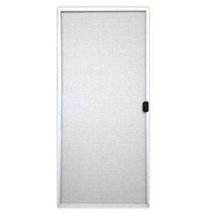 replacement screen panel for aluminum framed patio door white