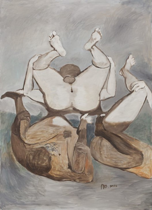 "Tang Dixin, ""Three Kingdoms,"" oil on canvas, 180 x 130 cm, 2008唐狄鑫,《三国》,布面油画,180 x 130 cm, 2008"