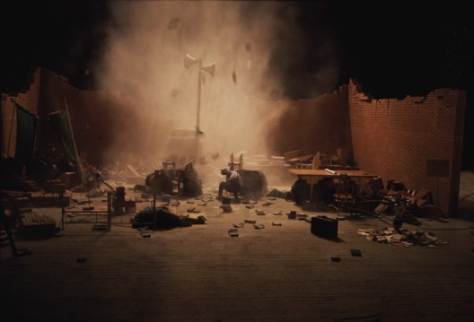 "Wang Jianwei, ""Hostage"", HD color video, with sound, 32 min, 2008汪建伟,《人质》,HD彩色有声视频,32分钟,2008"