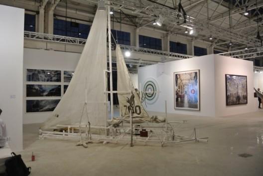 Works by Cheng Ran, Galerie Urs Meile, Second floor二楼麦勒画廊展位程然作品