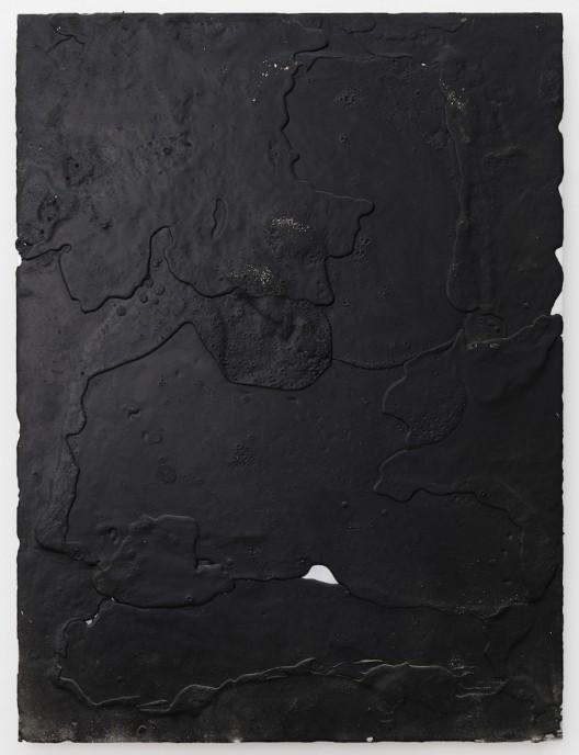 Pour 浇, SU Chang 苏畅, 2015. Aluminum board 铝板, 60 x 80 x 4 cm