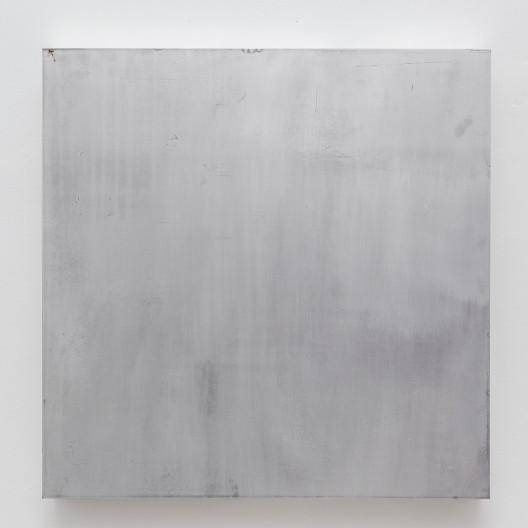 Rub 搓, SU Chang 苏畅, 2015. Aluminum board 铝板, 55.5 x 55.5 x 5.5 cm