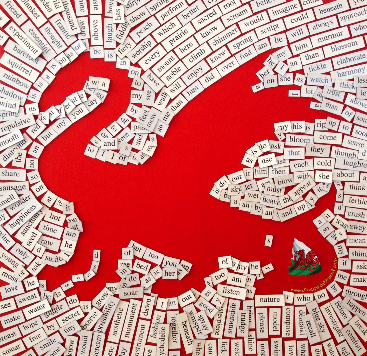 FridgePoet Project Magnet Dragon