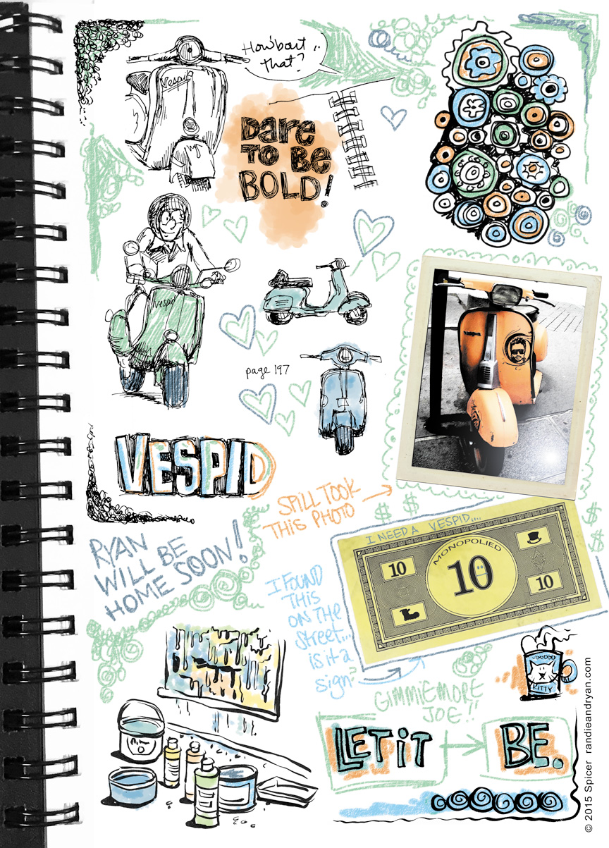 Bonus Sketchbook Toon!
