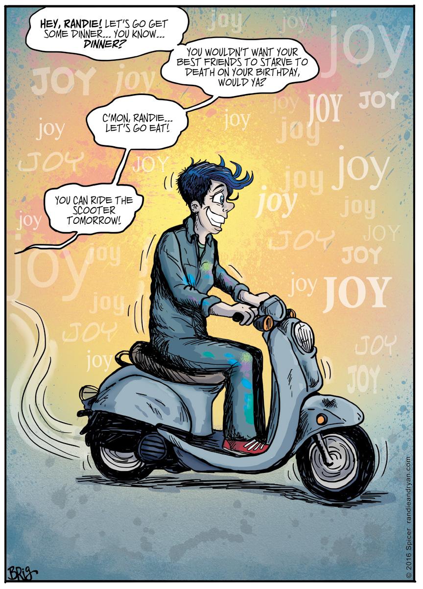 Scooter Joy