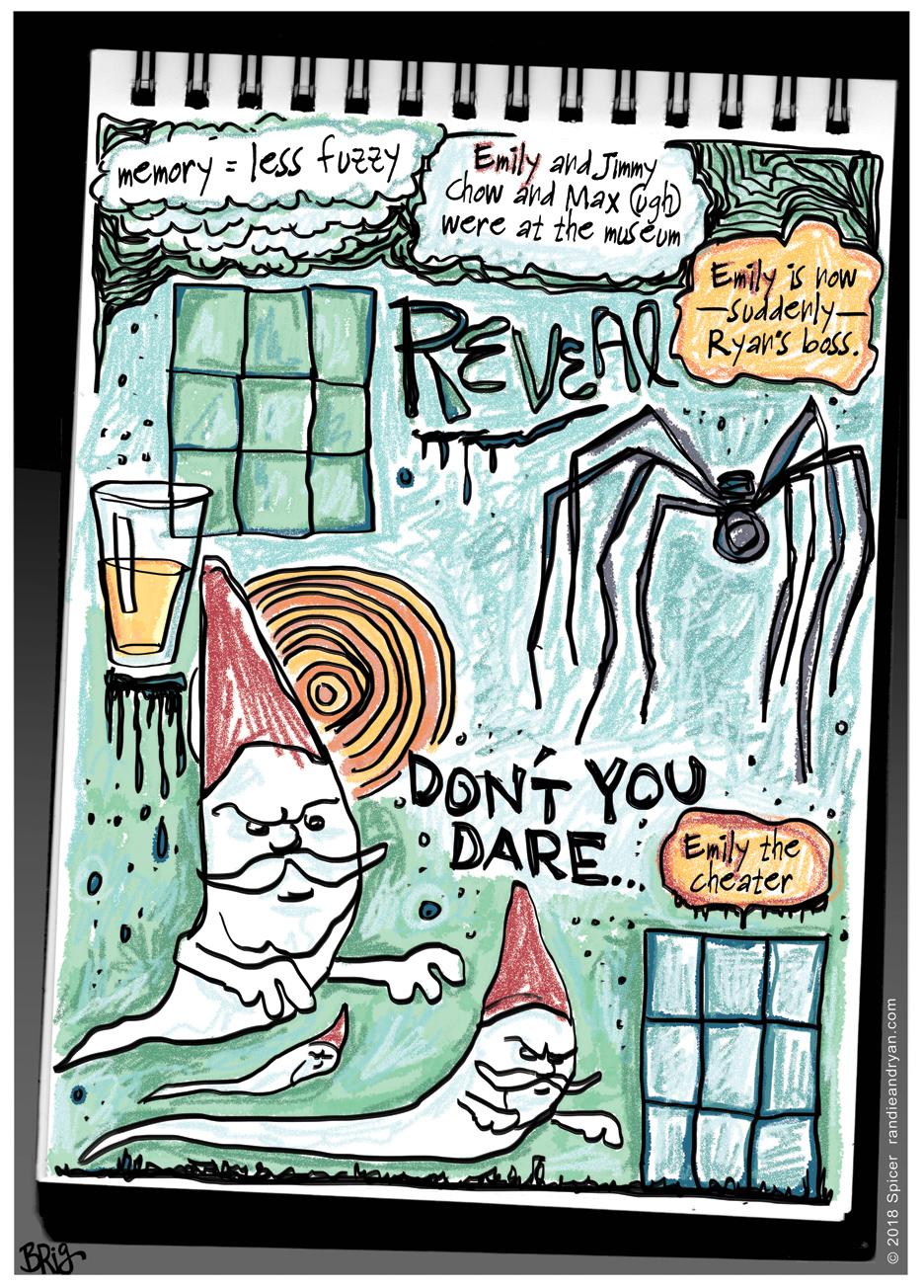 Randie's sketchbook anxiety