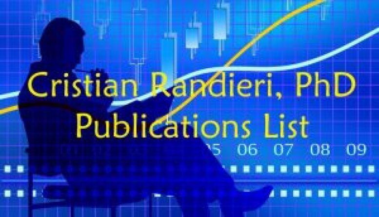Cristian Randieri Publications list
