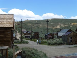 Road from the parking lot, Bodie