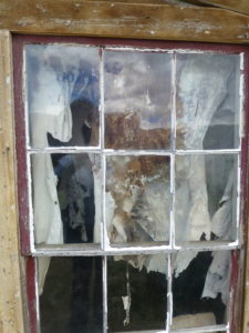 Bodie Tattered Window covering
