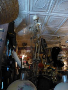 Skeleton Death Antique Store Genoa Nevada