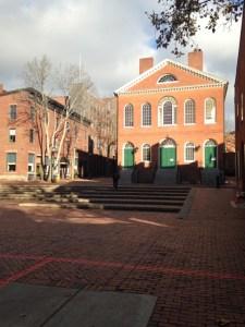 Salem Town Hall Derby Square