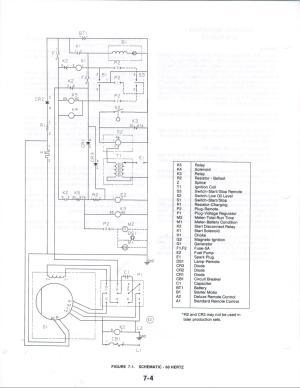 R & K Products : Onan KV Wiring [1]  $000