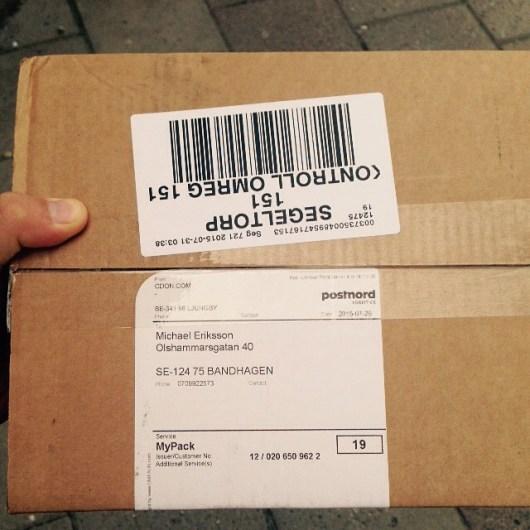 Gick och hämta ett paket