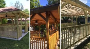 Beautifully Remodeled Gazebo in San Antonio