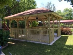 Gorgeous Gazebo Project by R & M Flooring and Remodeling
