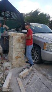 Stone Mailbox Project