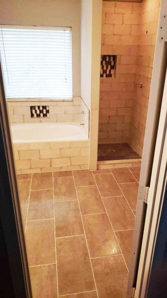 Shower and Jacuzzi Remodel