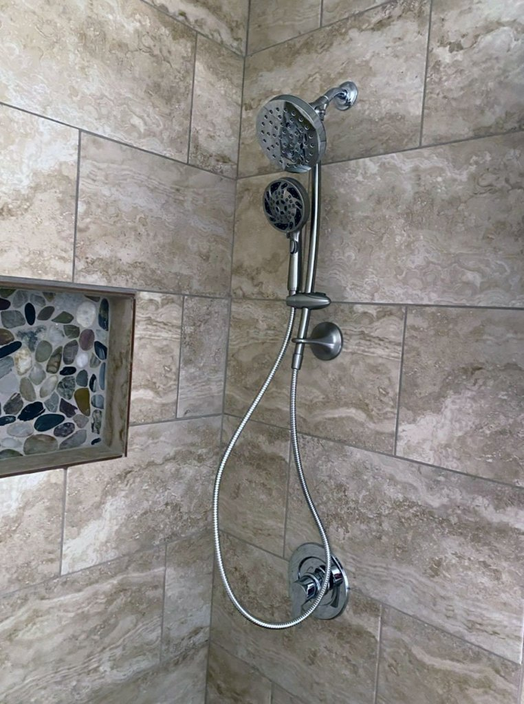Standup Shower Conversion