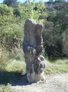La pierre de l'ours Autignac