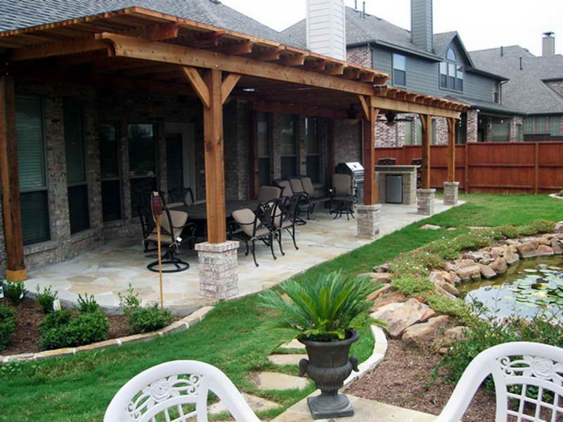 Covered Back Porch Ideas Pictures — Randolph Indoor and ... on Covered Back Deck Designs id=76844