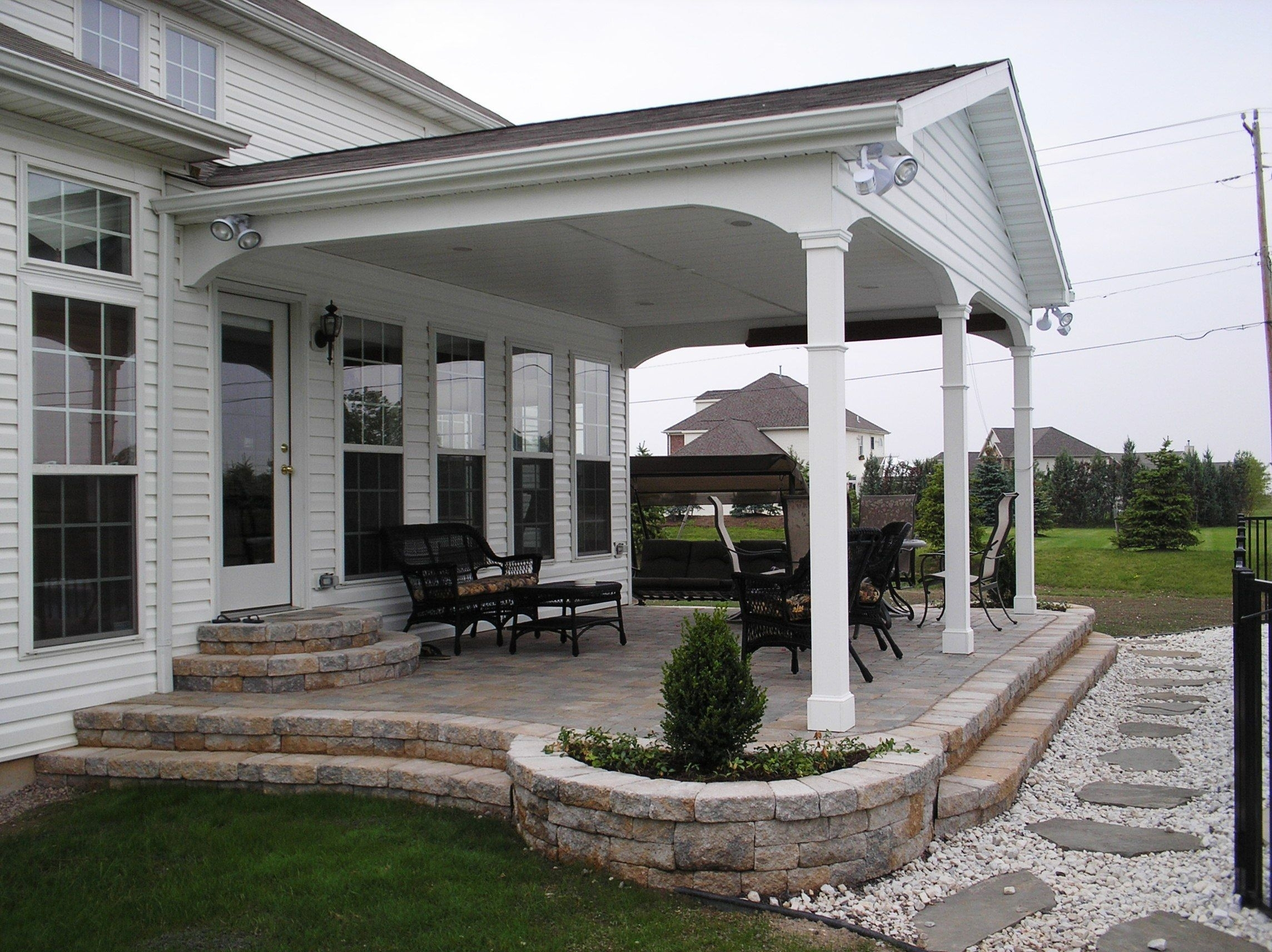 Covered Back Porch Ideas Pictures — Randolph Indoor and ... on Covered Back Porch Ideas id=89834