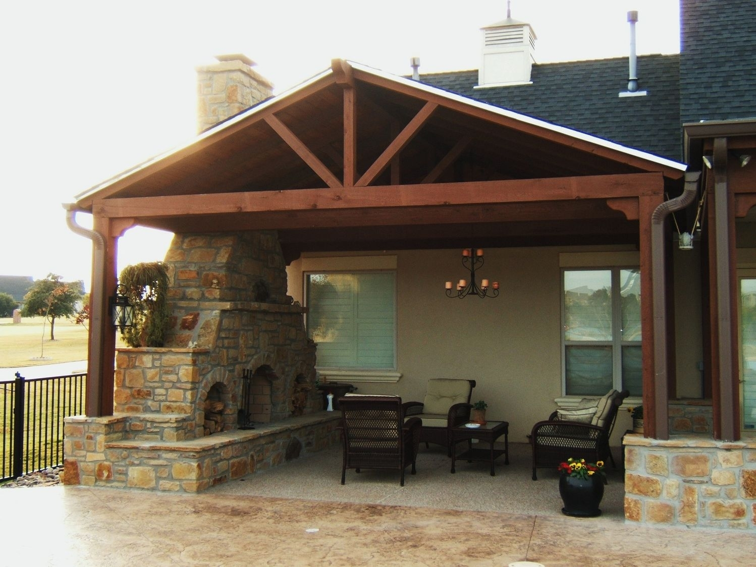 Different Ideas For Covered Back Porch — Randolph Indoor ... on Covered Back Porch Ideas id=69731