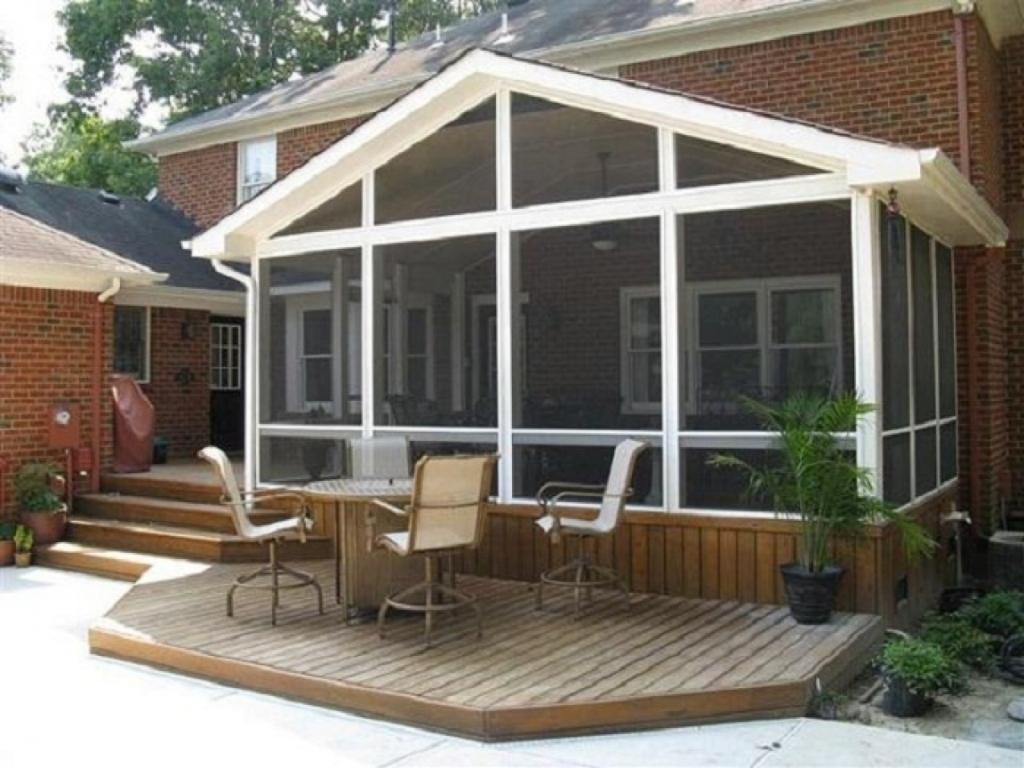 Enclosed Front Porch Decorating Ideas — Randolph Indoor ... on Small Enclosed Patio Ideas id=54416