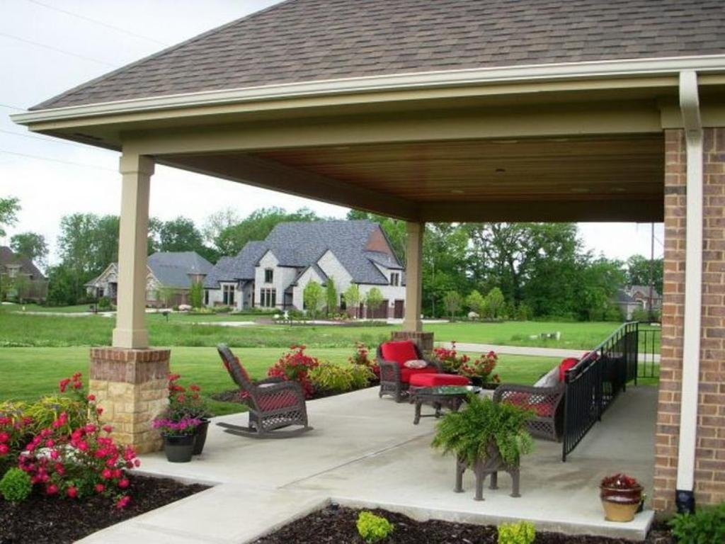Different Ideas For Covered Back Porch — Randolph Indoor ... on Covered Back Deck Designs id=98904