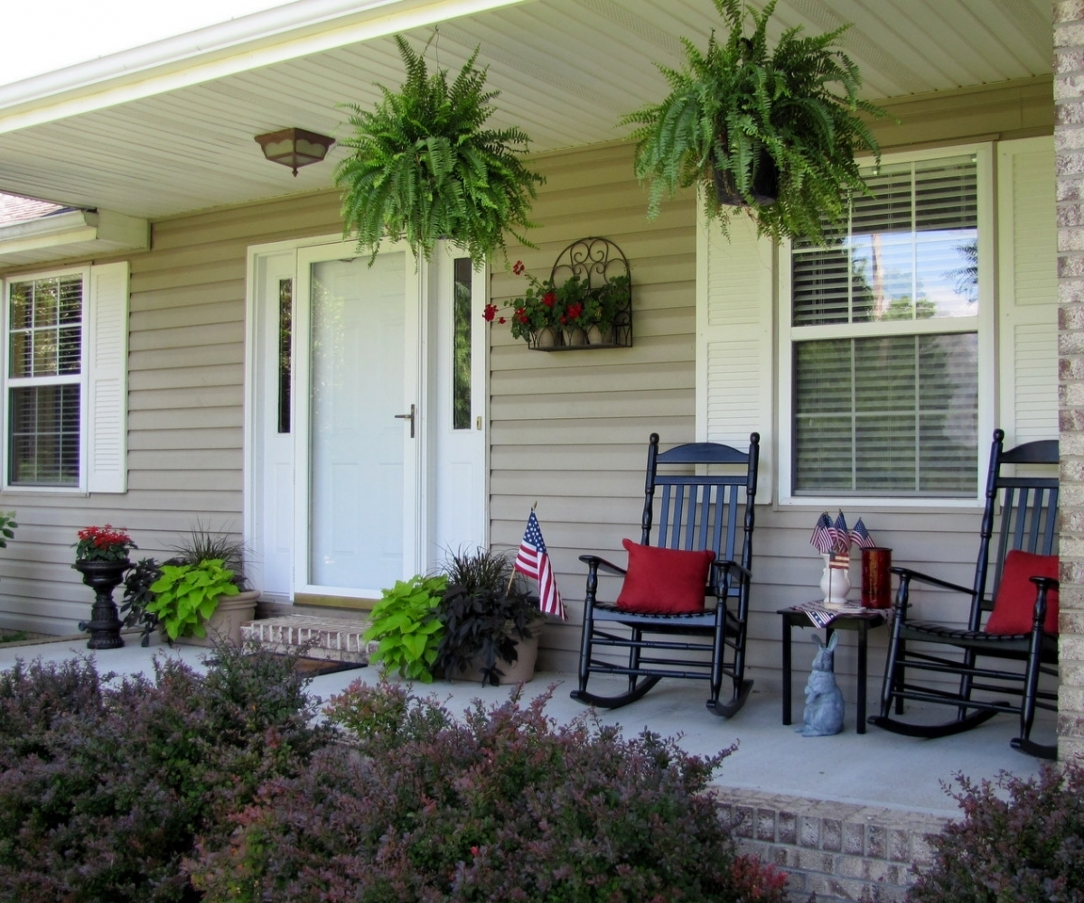 The Country Porch Decorating Ideas — Randolph Indoor and ... on Country Patio Ideas id=91972