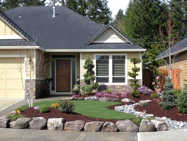 Landscaping Ideas For Brick Ranch Style Homes — Randolph ... on Backyard House Ideas id=79702