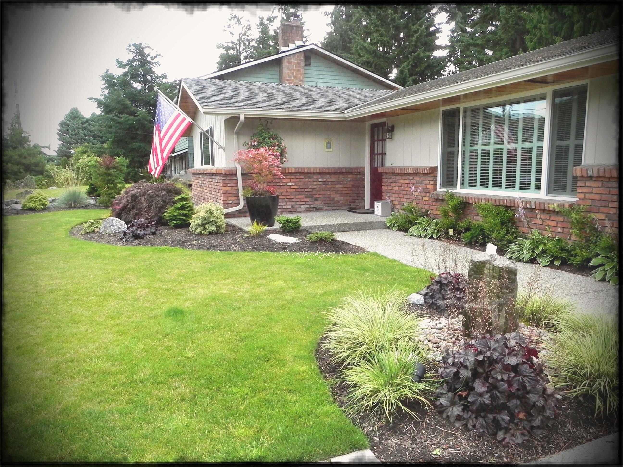 Landscaping Ideas For Brick Ranch Style Homes — Randolph ... on Backyard House Ideas id=57294