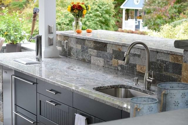 outdoor kitchen granite countertops maintenance — randolph indoor