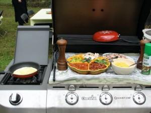 Our Omelet Station Set-Up