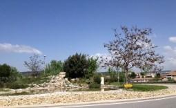 Rond-Point paysager sur la route de Galice
