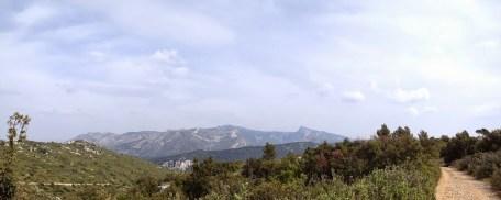 Panoramique sur la Sainte-Baume