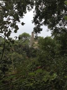 La cheminée depuis la digue