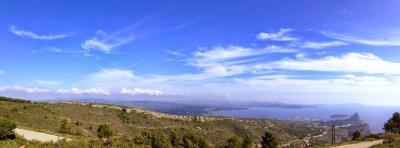 Panoramique depuis le sémaphore