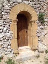 La porte de la sacristie