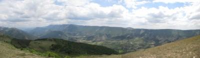 panoramique montagne de Lure