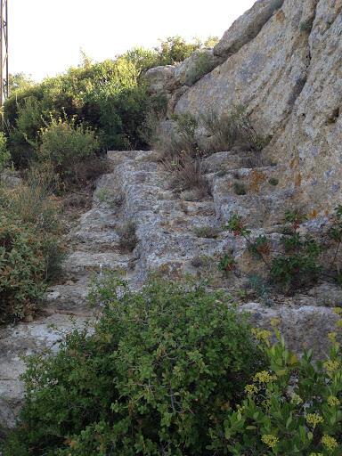 Marches de pierre