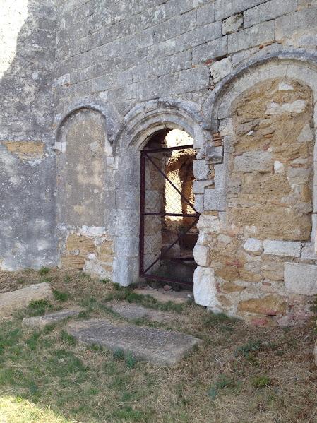 façade chapelle Ste Croix