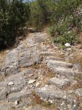 Escalier menant à St-Pierre