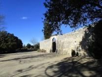 Façade sud du prieuré